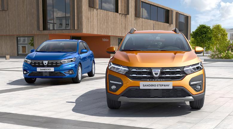 Dacia представи трето поколение на най-значимите си модели