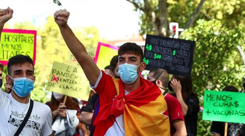 Стотици въстанаха срещу карантината в Мадрид
