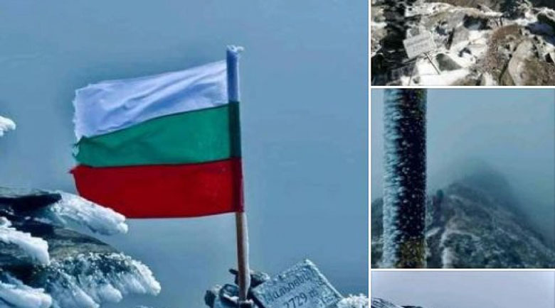 Връх Мальовица побеля от сняг