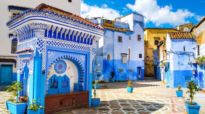Синята перла на Мароко – лабиринт, в който да се изгубиш