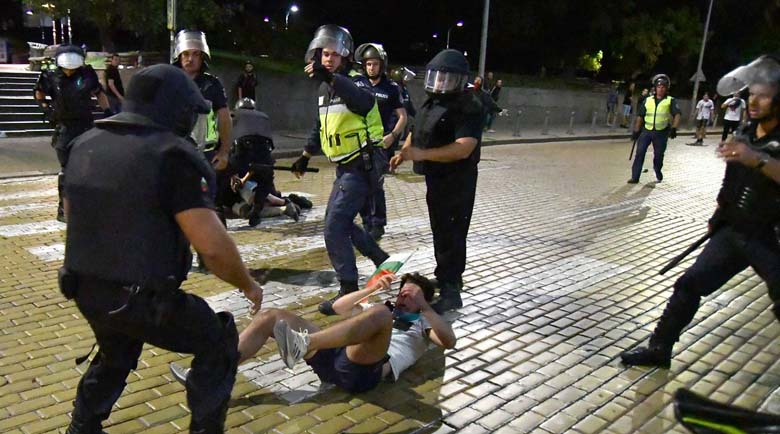 Граждани внесоха жалби срещу полицейското насилие на протеста
