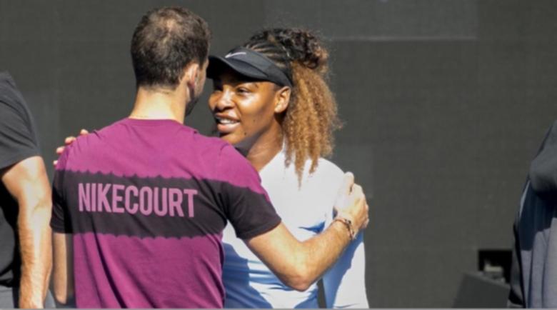 Серена след тренировка с Гришо: Не знам кога ще спра с тениса