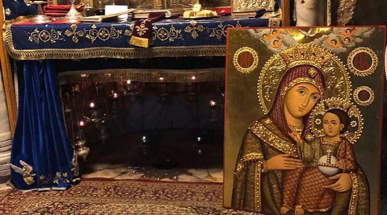 От Йерусалим идва Чудотворната Витлеемска Света Богородица