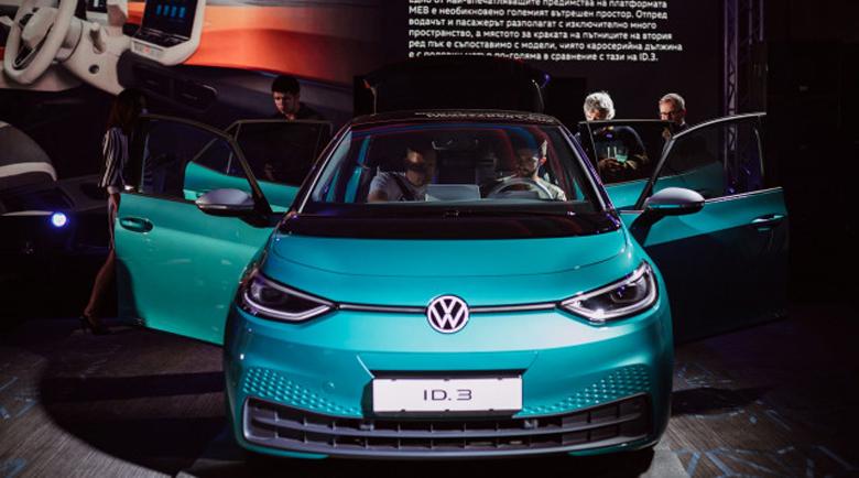 Първият електрически Volkswagen ID.3 пристигна в България и се разпродаде