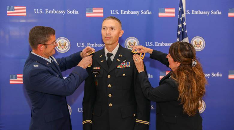 Българин с чин подполковник от US армията