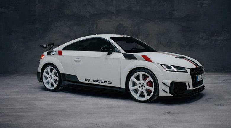 За 114 040 евро: Audi TT RS 40 years of Quattro – само в Германия