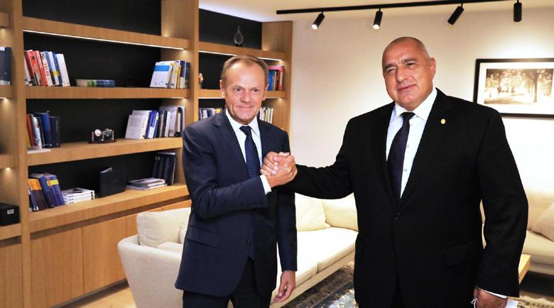 Лидерът на ЕНП към Борисов: Имате нашата подкрепа