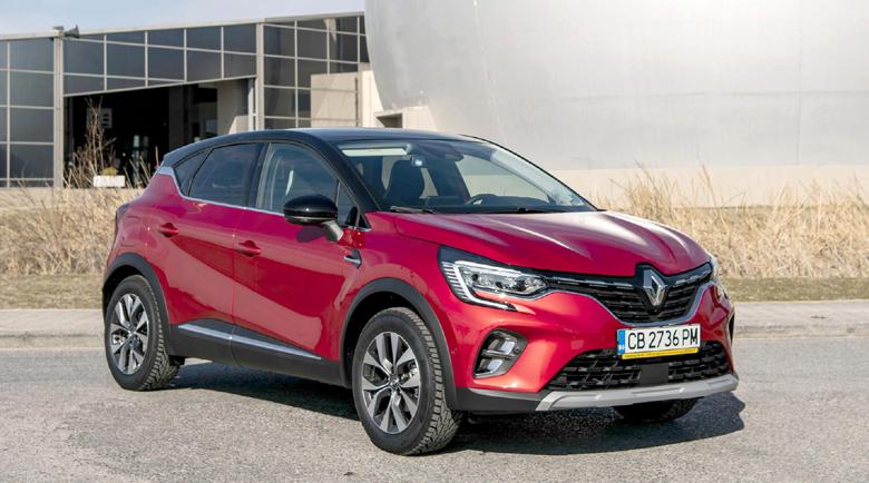 Renault Captur минава 100 километра за 6 лева на газ