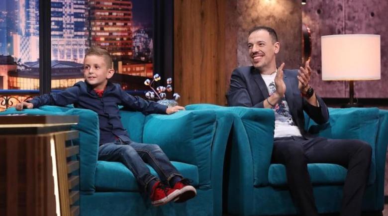 Синът на Милен Цветков дебютира в телевизията