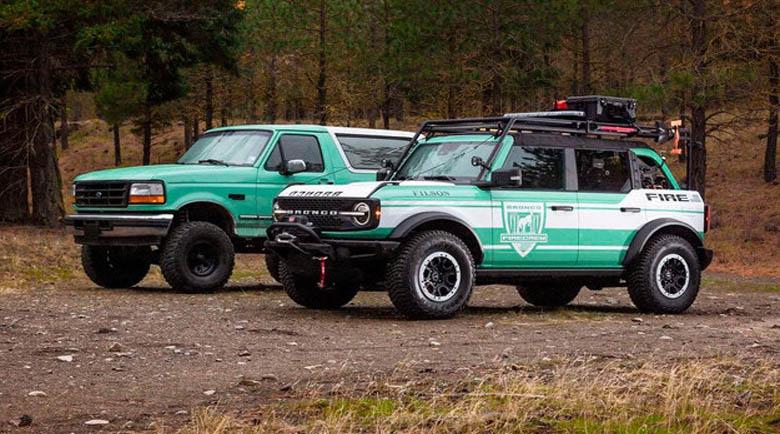 Ford пуска всъдеход с пожарен маркуч и трион