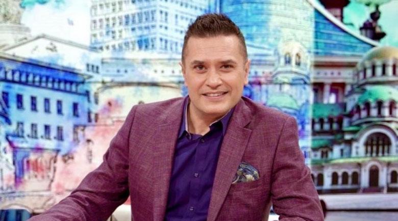 Тв водещият Георги Любенов е заразен с коронавирус