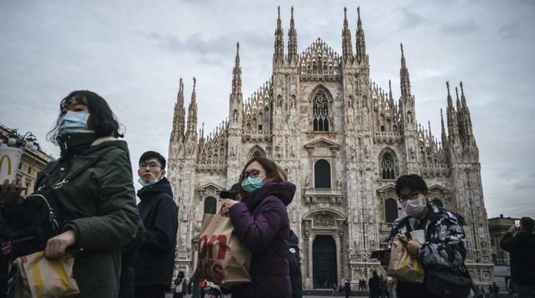 Италия пак тръгна към якото измиране, 2500 души са се заразили за ден