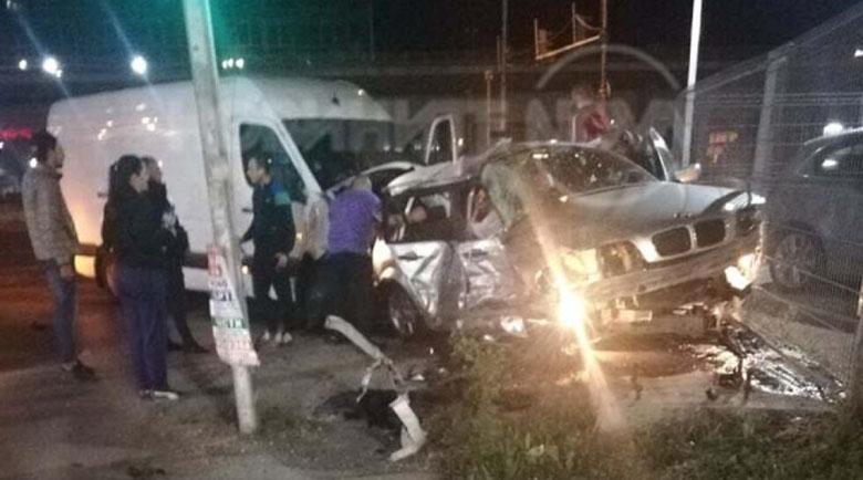 Пияни сватбари задигнаха кола и катастрофираха