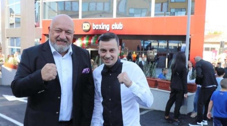 Красен Кралев откри боксовата зала на Детелин Далаклиев