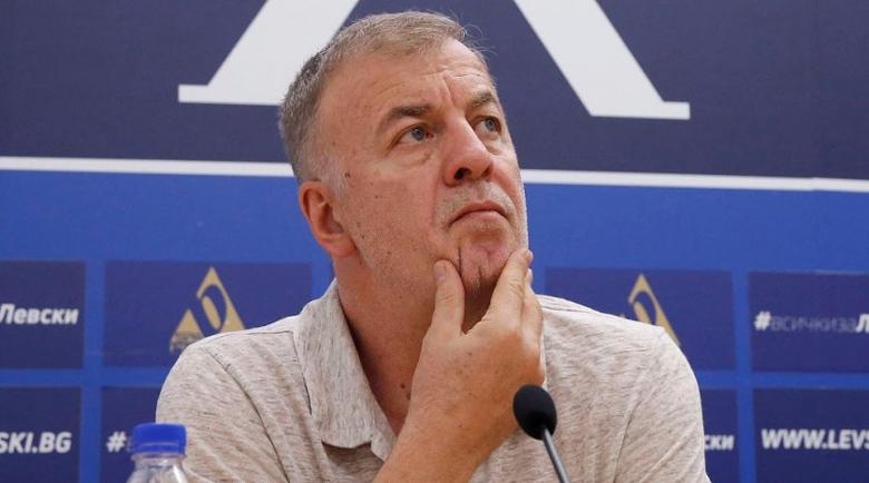 """Наско Сираков: """"Левски"""" може да фалира всеки един момент"""
