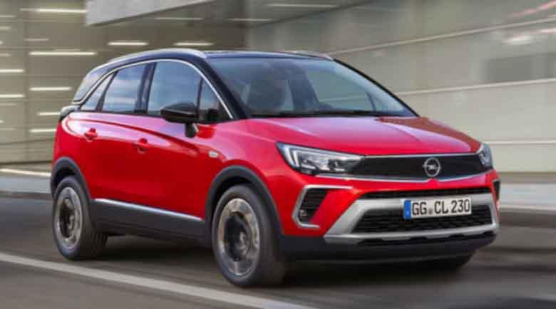 Opel Crossland X получи ново лице и си смени името