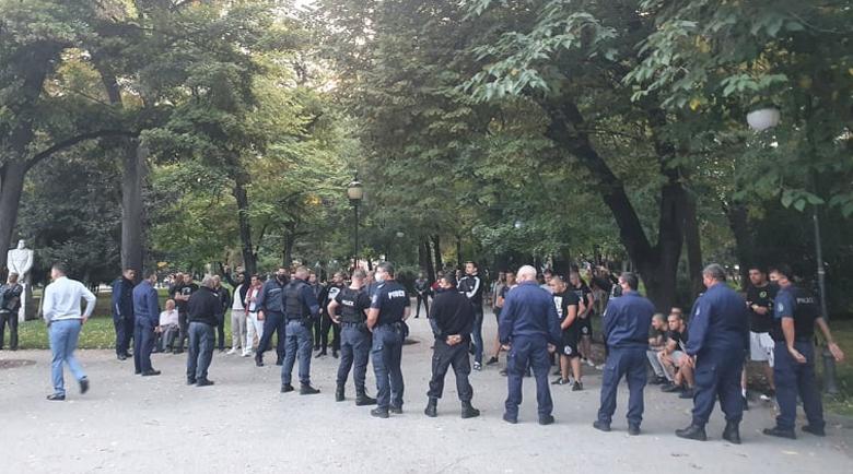 Противница и поддръжници на различната сексуална ориентация се плюха в Пловдив