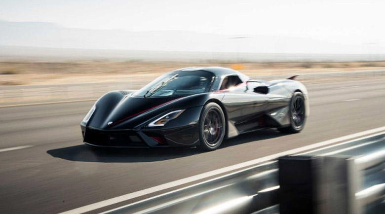 SSC Tuatara е най-бързият сериен автомобил в света