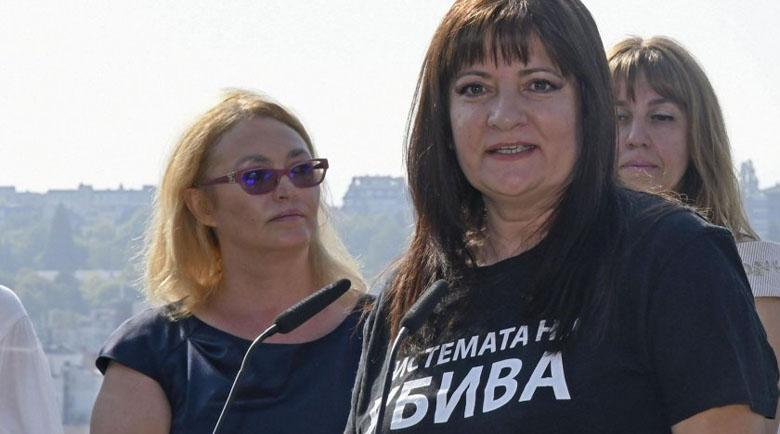 """БНТ скри Деница Сачева от майките от """"Системата ни убива"""""""