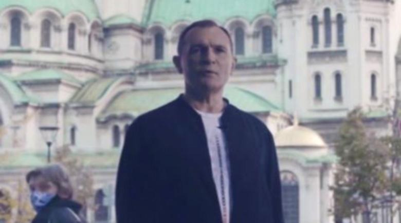 """Божков се появи пред """"Св. Александър Невски"""" и представи партията си"""