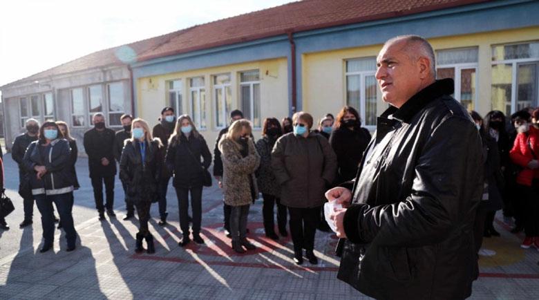 Борисов от Раковски: В политиката инатът на никого не е помогнал