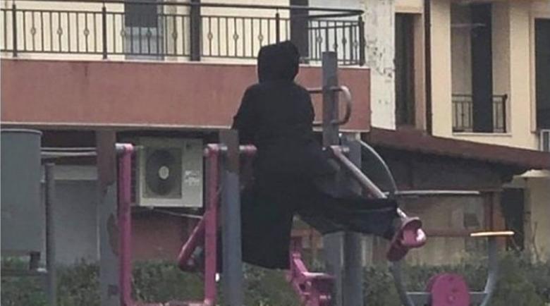 Зловеща монахиня плаши хората в Несебър