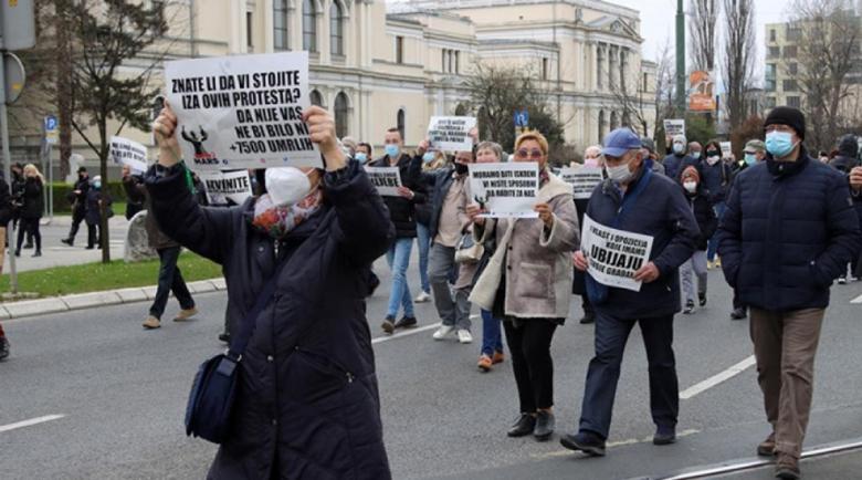 Протест в Сараево с искане за по-строги ограничителни мерки