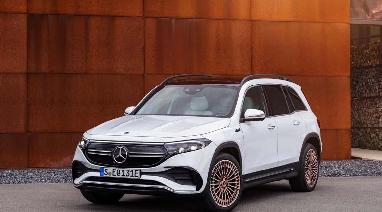 Mercedes-Benz EQB тръгна изцяло на ток