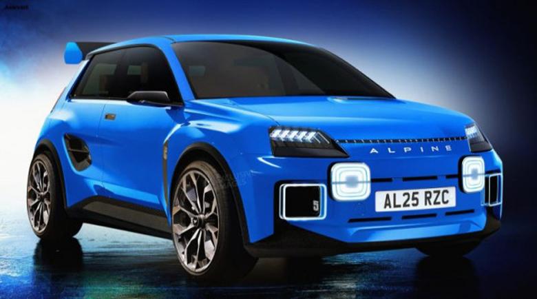Alpine възражда митичното Renault 5 Turbo