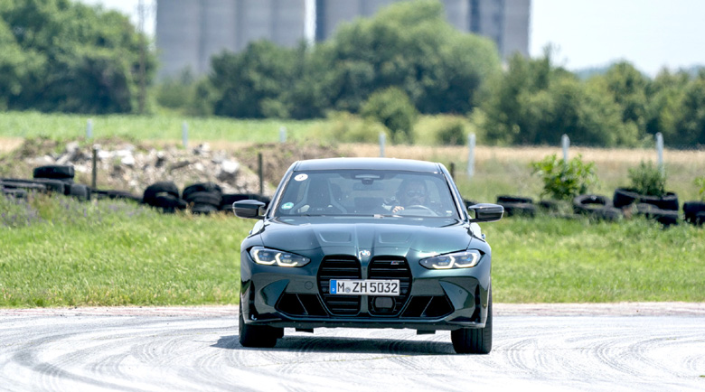 М-моделите на BMW показват силата си на пистата