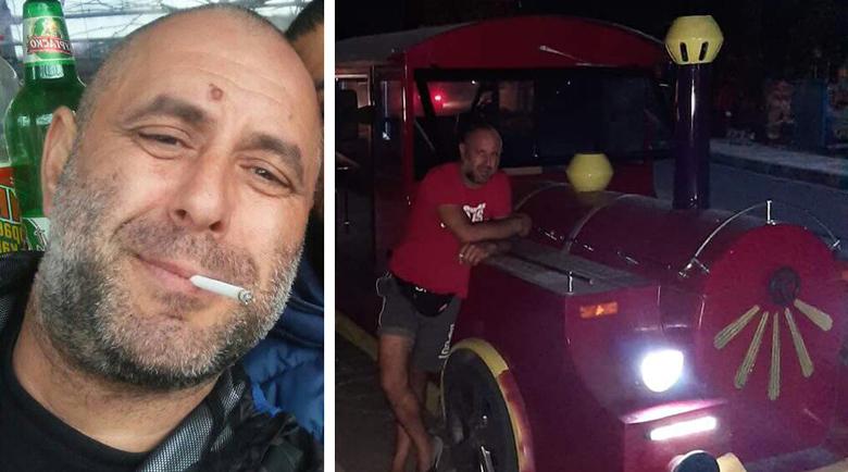 Пейо Жабчето карал атракционното влакче в Бургас на пико и амфети