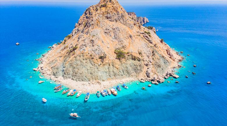 Тайният остров в Анталия, за който дори турците не знаят